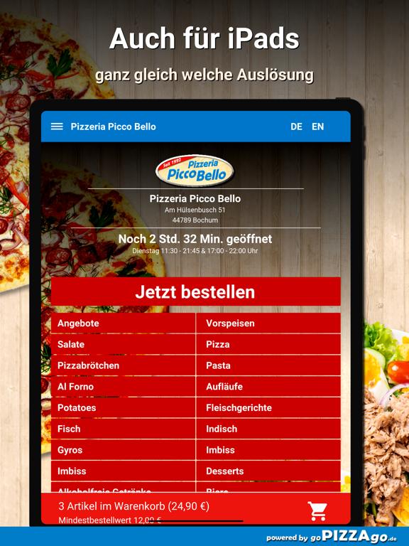 Pizzeria Picco Bello Bochum screenshot 7