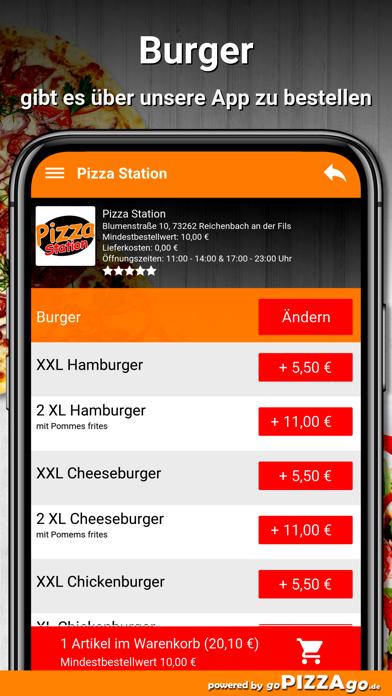 Pizza-Station Reichenbach screenshot 6