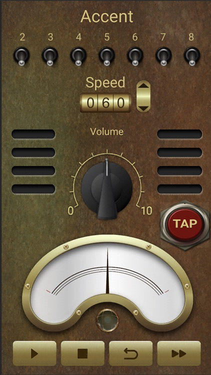 Steampunk Metronome screenshot-3