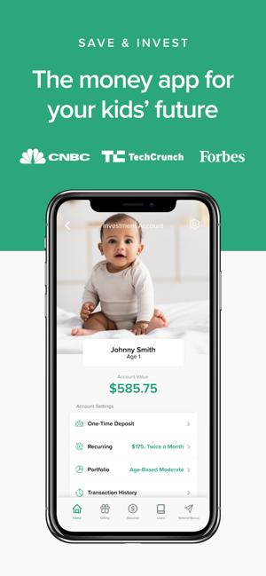 UNest: Invest in your kids Screenshot