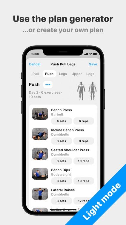Alpha Progression - Gym Logger screenshot-3