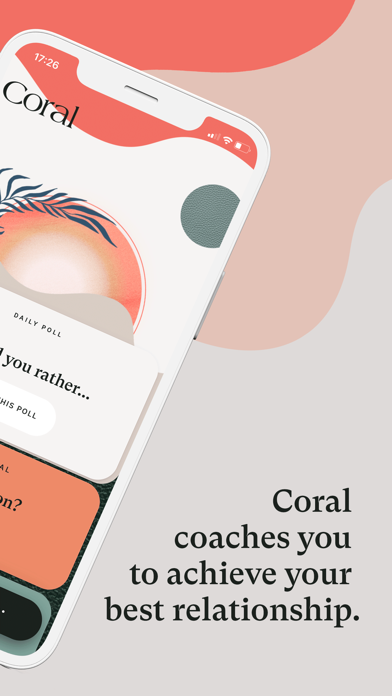 Coral: Relationship self-care screenshot two