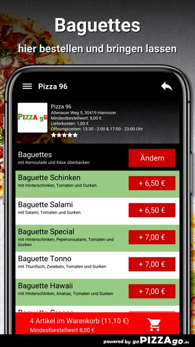 Pizza-96 Hannover screenshot 6