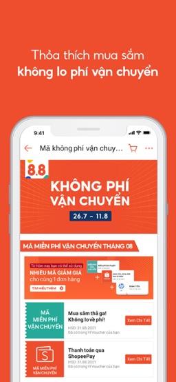 Shopee 8.8 Siêu Sale Freeship app screenshot