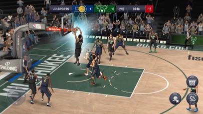 Screenshot from NBA LIVE Mobile Basketball