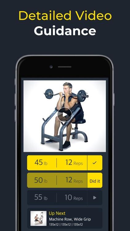 Workout: Gym workout planner screenshot-6