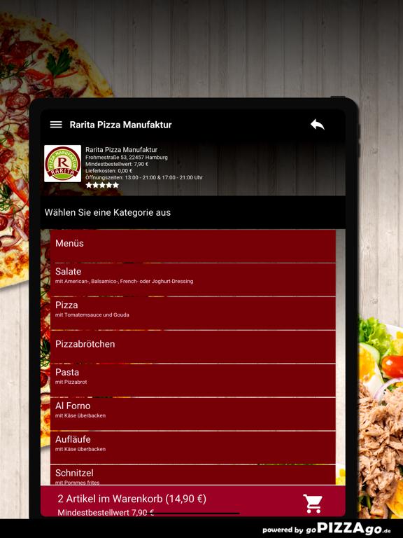 Rarita Pizza Hamburg screenshot 8