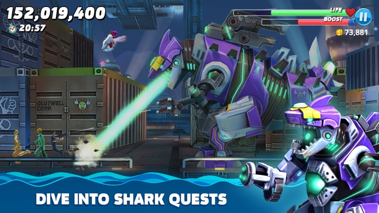 Hungry Shark World screenshot-5
