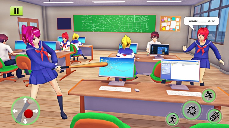 Anime School Girl Life Sim 3D