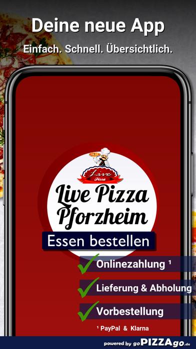 Live Pizza Pforzheim screenshot 1