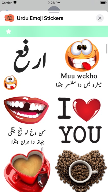 Urdu Emoji Stickers screenshot-5