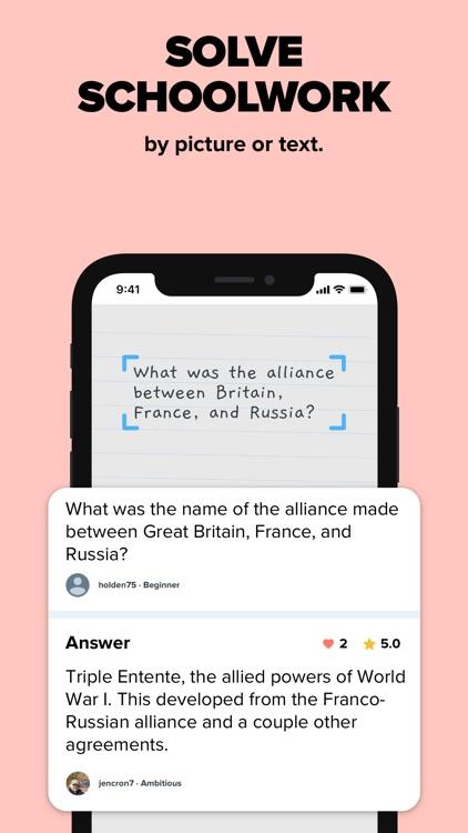 Brainly – Homework Help App screenshot-4