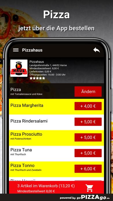 Pizzahaus Herne screenshot 5