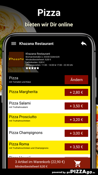 Khazana Restaurant Gütersloh screenshot 5