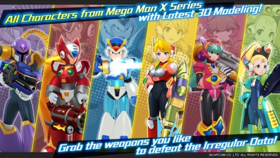 MEGA MAN X DiVE - MOBILE screenshot 1