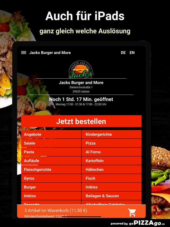 Jacks Burger and More Uelzen screenshot 7