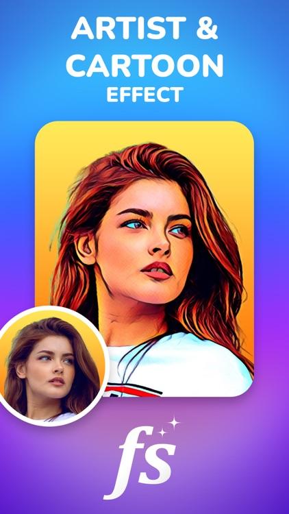 Face Story - AI Artist Cartoon screenshot-0