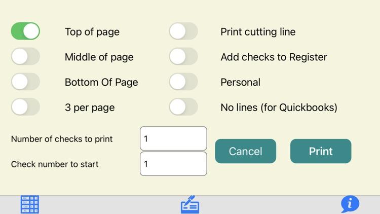 Check Printer Plus screenshot-4