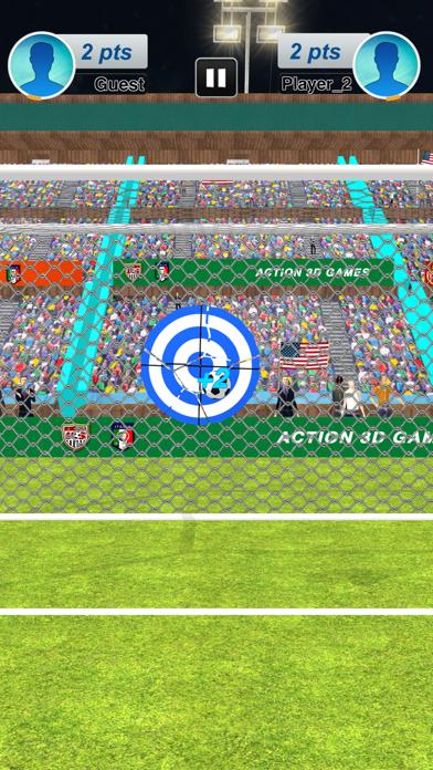 本物のサッカーサッカーストライカー紹介画像3