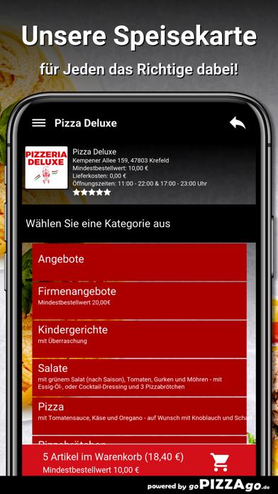 Pizza Deluxe Krefeld screenshot 4