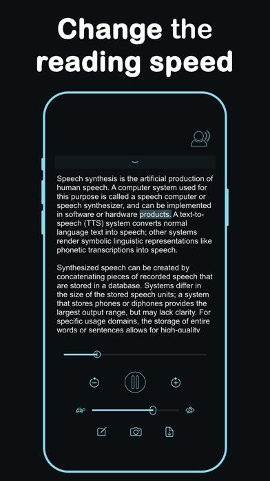 Listen - Text To Speech screenshot 6