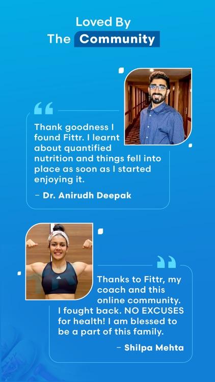 FITTR: Fat-loss & workout plan screenshot-7