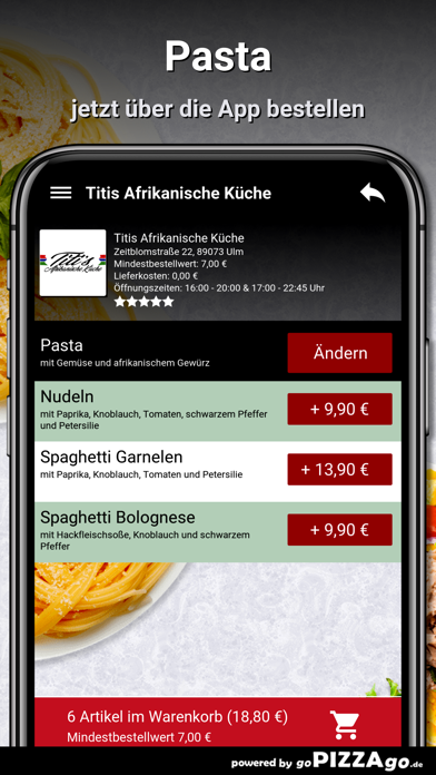 Titis Afrikanische Küche Ulm screenshot 5