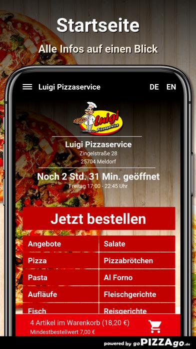 Luigi Pizzaservice Meldorf screenshot 4