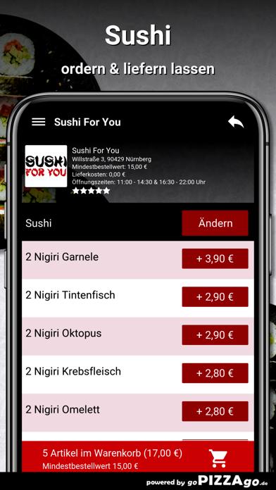 Sushi For You Nürnberg screenshot 6