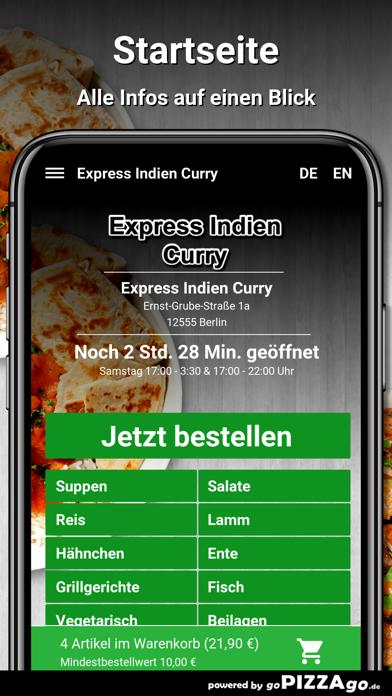 Express Indien Curry Berlin screenshot 2