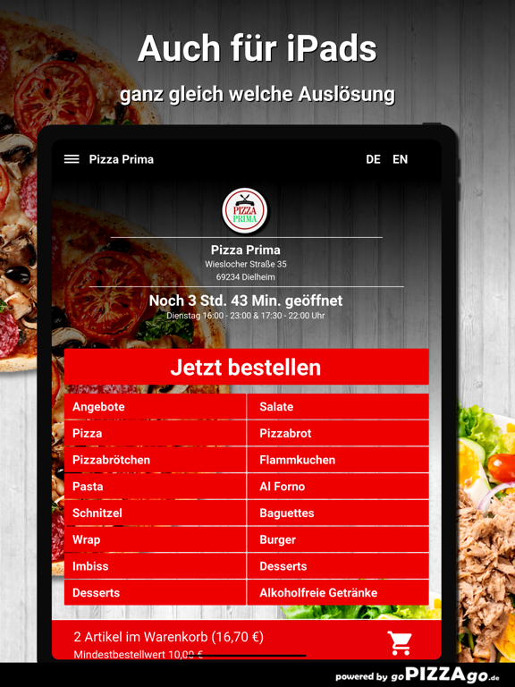 Pizza Prima Dielheim screenshot 7