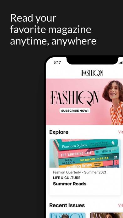 New Zealand Fashion QuarterlyScreenshot of 2