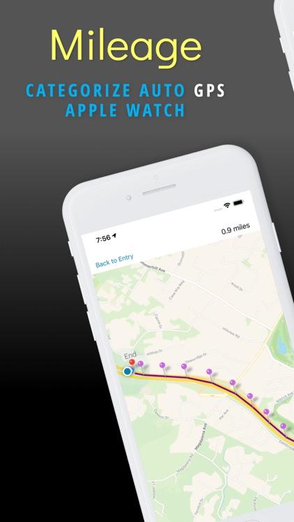 Mileage Expense Log & Tracker