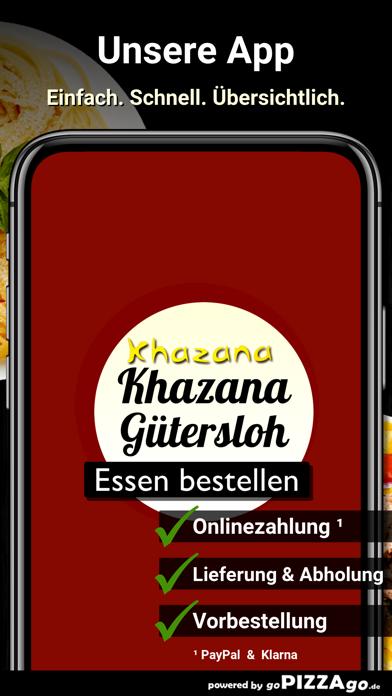 Khazana Restaurant Gütersloh screenshot 1