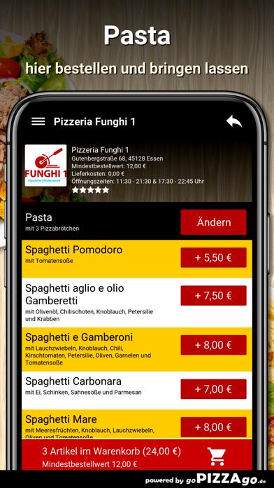 Pizzeria Funghi 1 Essen screenshot 6