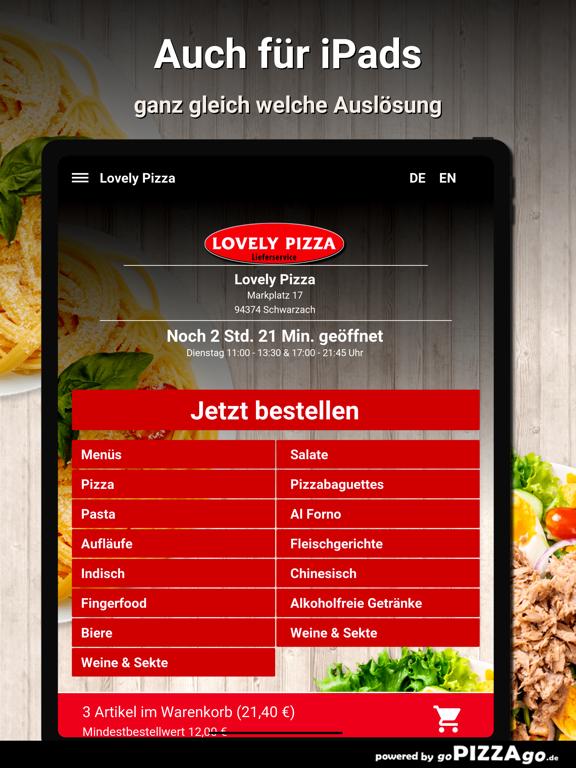 Lovely Pizza Schwarzach screenshot 7
