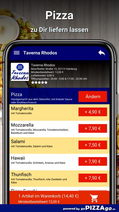 Taverna Rhodos Hamburg screenshot 5