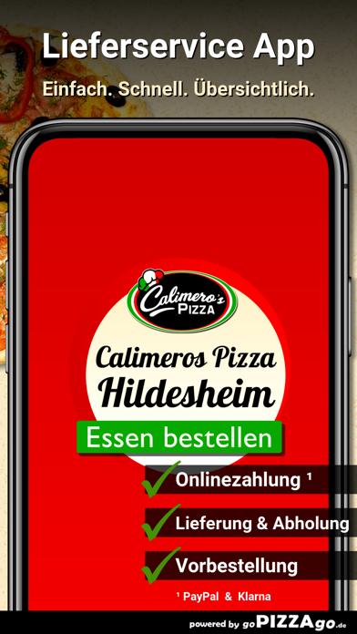 Calimeros Pizza Hildesheim screenshot 1