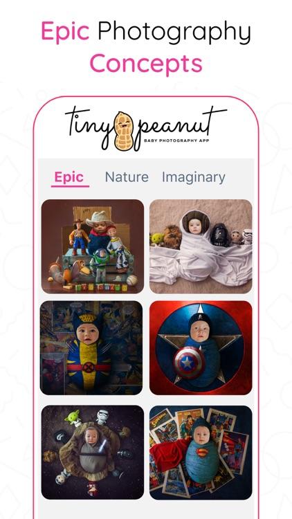 Tiny Peanut: Baby Photo Editor screenshot-6