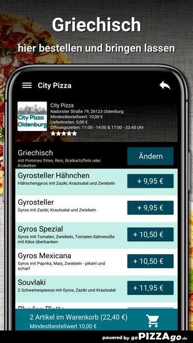 City-Pizza Oldenburg screenshot 6