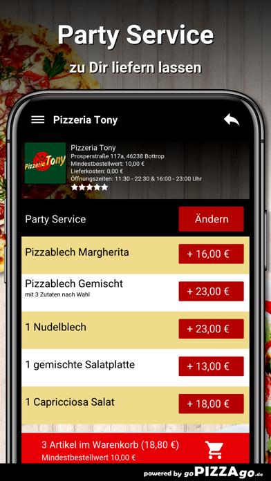 Pizzeria Tony Bottrop screenshot 5