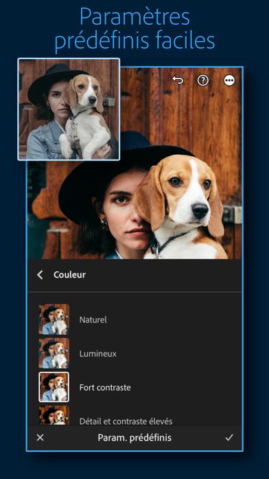 Adobe Lightroom: Éditeur Photo