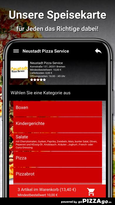Neustadt Pizza Service Bremen screenshot 4
