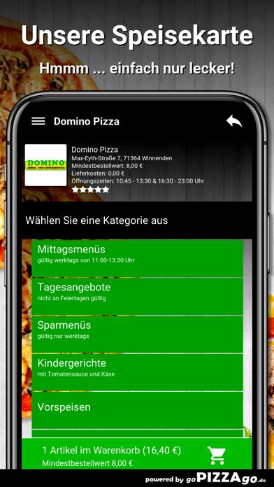 Domino Pizza Winnenden screenshot 4