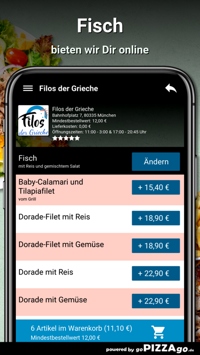 Filos der Grieche München screenshot 1