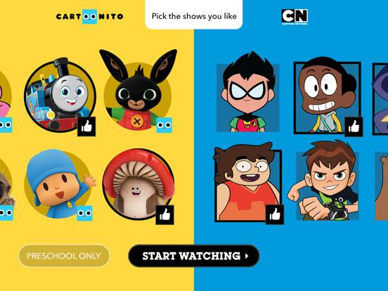 Cartoon Network tablet App screenshot 1