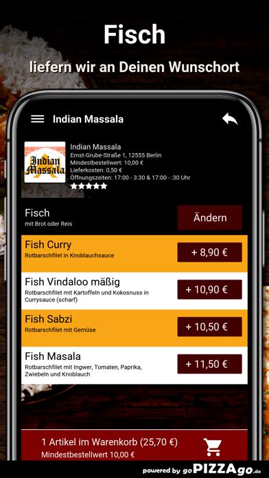 Indian Massala Berlin screenshot 6