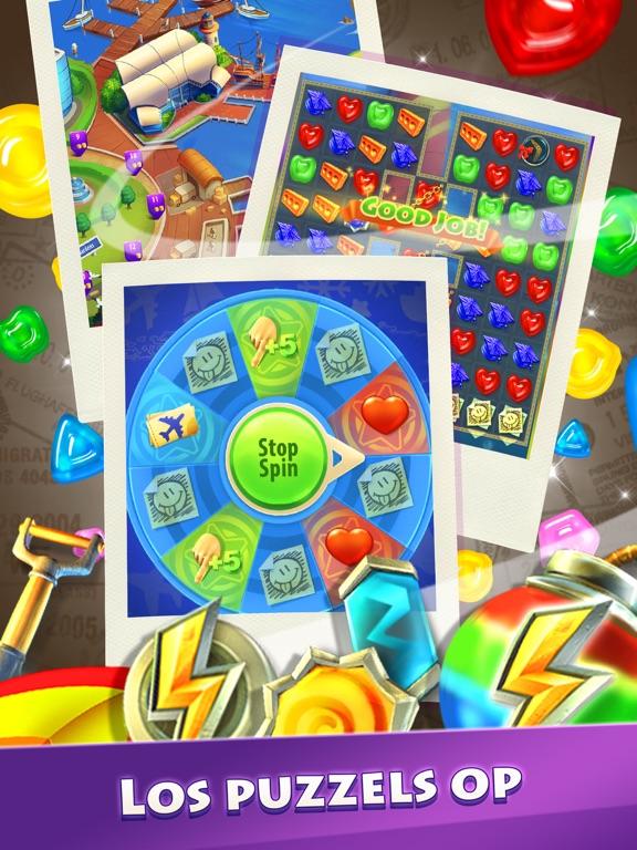 Gummy Drop! Match 3-puzzels iPad app afbeelding 2