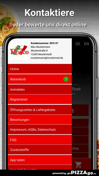 Pizzeria Da-Rocco Dortmund screenshot 3