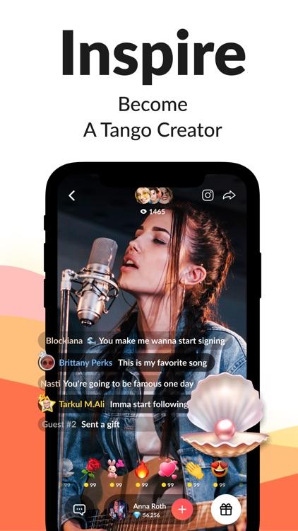 Tango-Live Stream & Video Chat screenshot-4